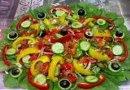 エジプトのグリーン サラダ